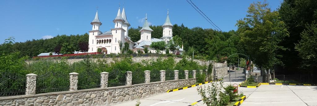 Manastirea Tisa Silvestri - Vedere poarta
