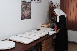 Manastirea Tisa Silvestri - Atelier pictura - pregatire blat1