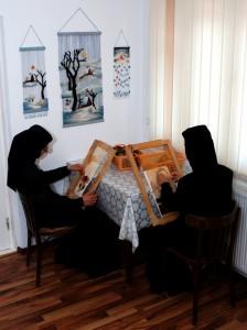 Manastirea Tisa Silvestri - Atelier tapiserie 1
