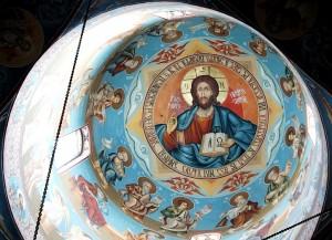 Manastirea Tisa Silvestri - Pictura Iisus